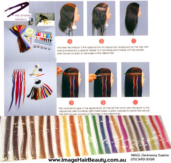 Hair Extensions Kit and Full Range of Accessories